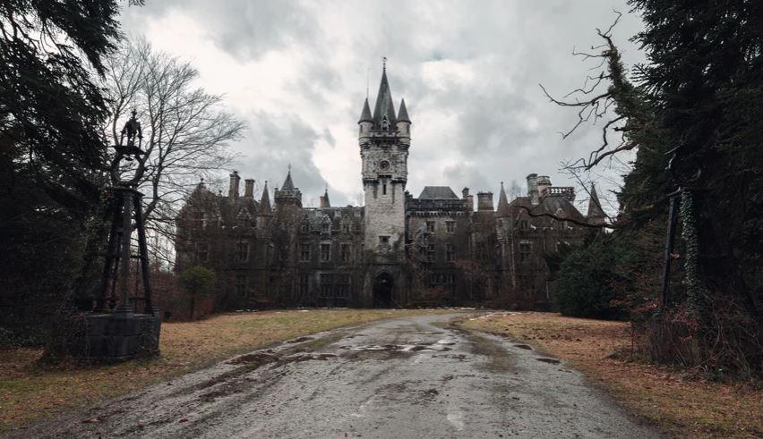 Kalaja e braktisur në Belgjikë që shkakton tmerr