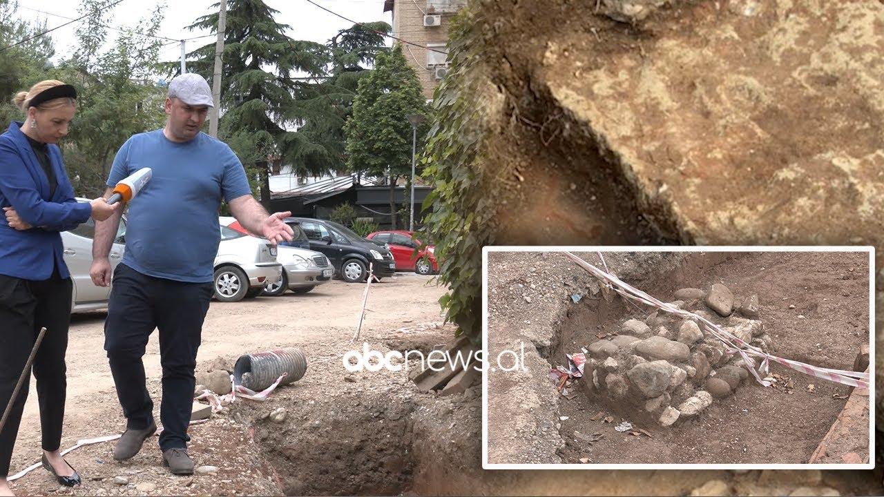 Zbulimet ne mozaikun e Tiranës, varr antik, mure rrethuese dhe monedha te shekullit te V