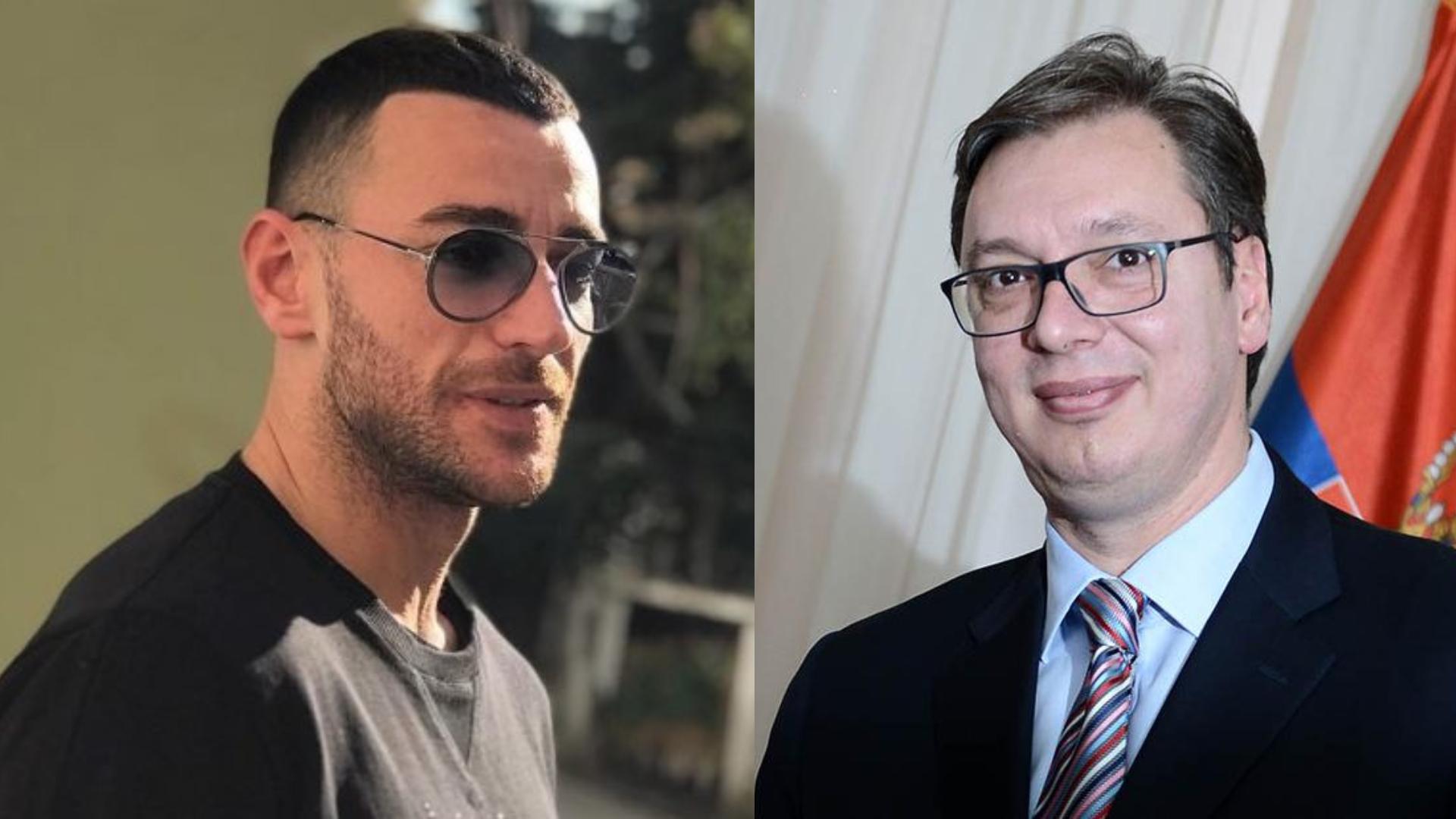 Me gishtin e mesit te harta, Stresi mesazh të drejtëpërdrejtë Vuçiçit: Na e ktheve me armë