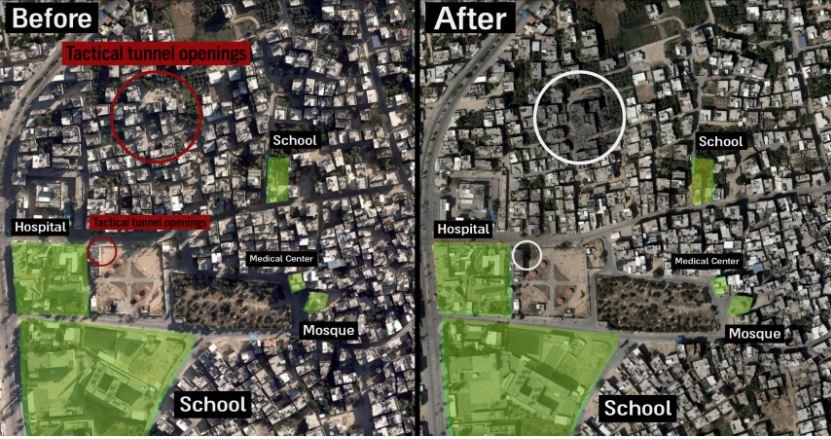 Hamas rrezikon civilët , Izraeli publikon hartat e shenjestrave ushtarake