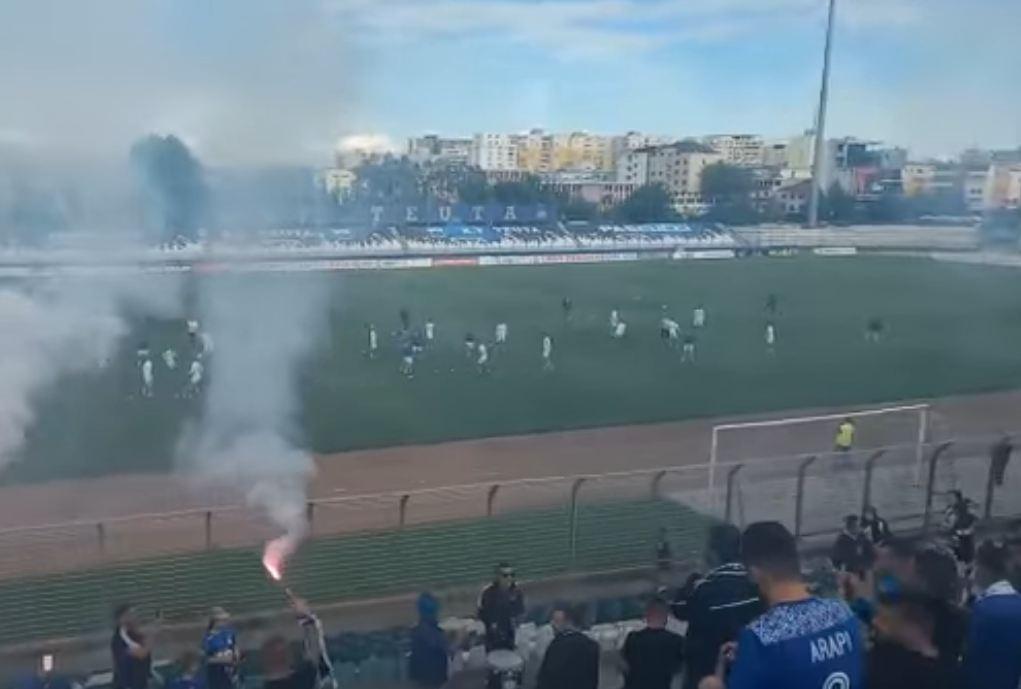 VIDEO/ Finale me Partizanin, Teuta motivohet nga tifozët që sot