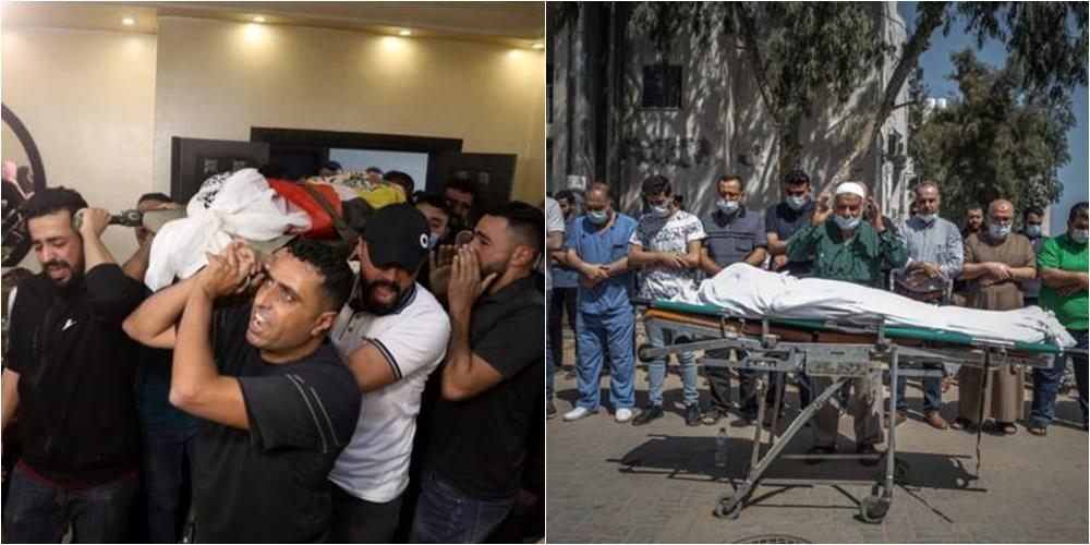Palestinezët dhe izraelitët vajtojnë viktimat e përplasjeve të dhunshme