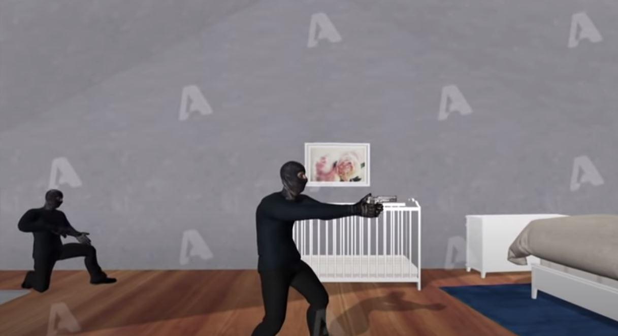 VIDEO-3D e tmerrit, si u futën grabitësit në shtëpi, varën qenin dhe mbytën gruan në sy të foshnjës