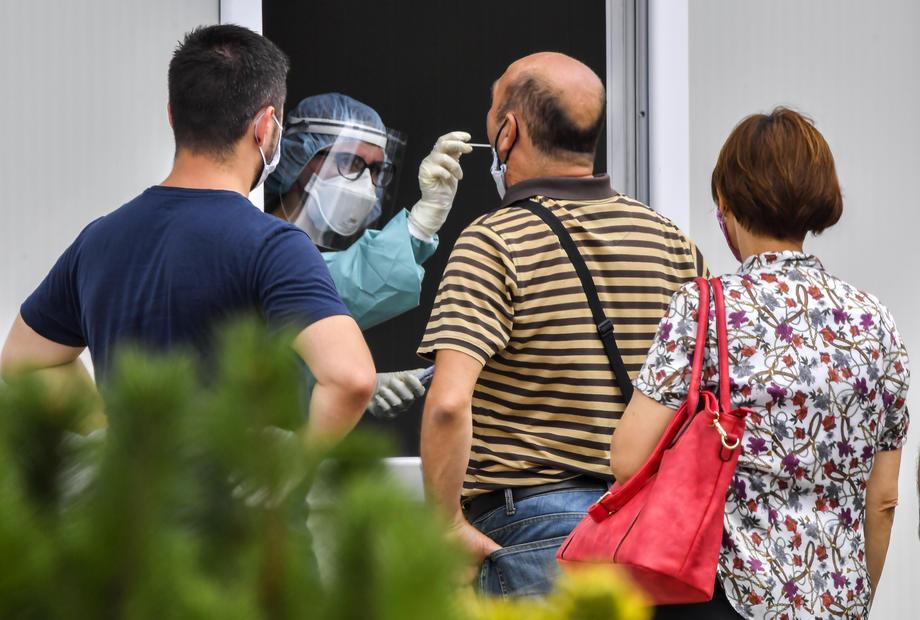 150 raste të reja me Covid-19 në Maqedoni, 16 të vdekur në 24 orë