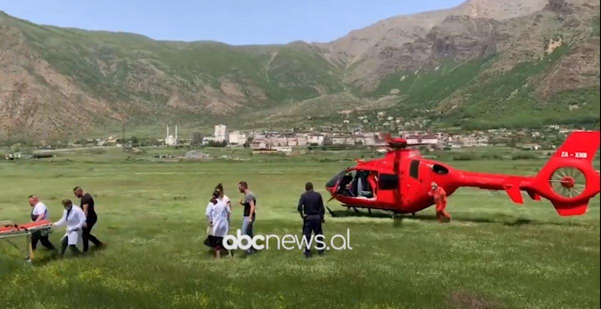 Plagoset minatori në Bulqizë, niset me helikopter drejt Tiranës