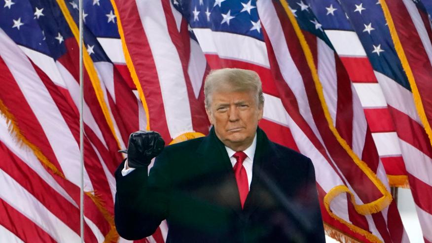 Ish presidenti amerikan Trump rikthehet sërish në skenën politike