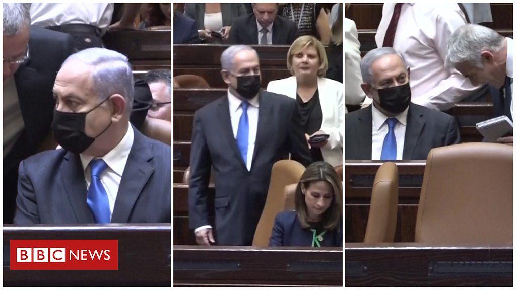 VIDEO/ Netanyahu ulet sërish në karrigen e kryeministrit, i kërkojnë të ngrihet