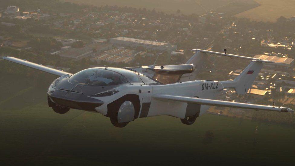 VIDEO/ Makina fluturuese ngjitet drejt qiellit, bën udhëtimin e parë