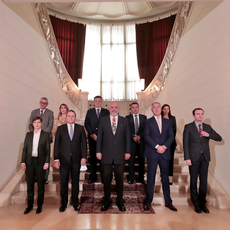 Samiti i Ballkanit Perëndimor, Majlinda Bregu: BE 500 milionë euro grante