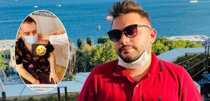 Reperi shqiptar merr dozën e dytë të vaksinës anti-Covid