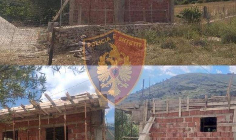 """U kap duke ndërtuar pa leje te """"Rana e Hedhun dhe kundërshtoi policinë, në pranga 36-vjeçari"""