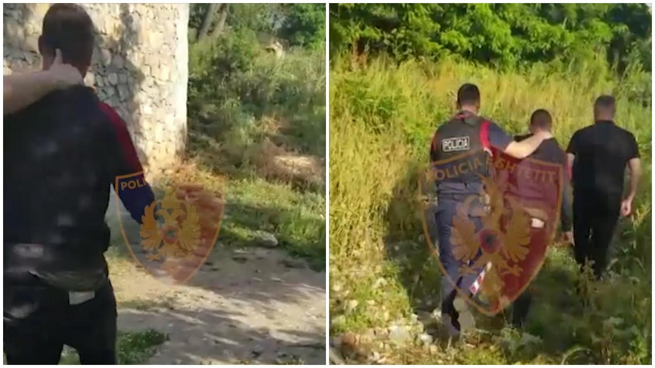 Sherri mes kushërinjve në Maliq, dalin pamjet e momentit të arrestimit, policia jep detajet