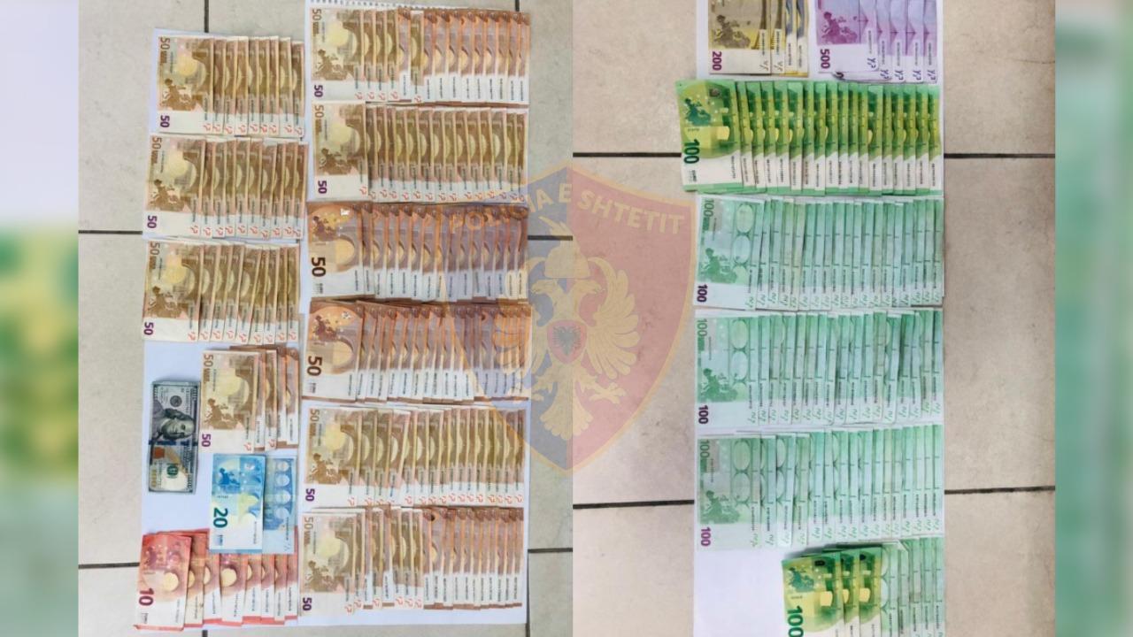 Mijëra euro të padeklaruara në Qafë Thanë, e pëson i riu nga Shkupi