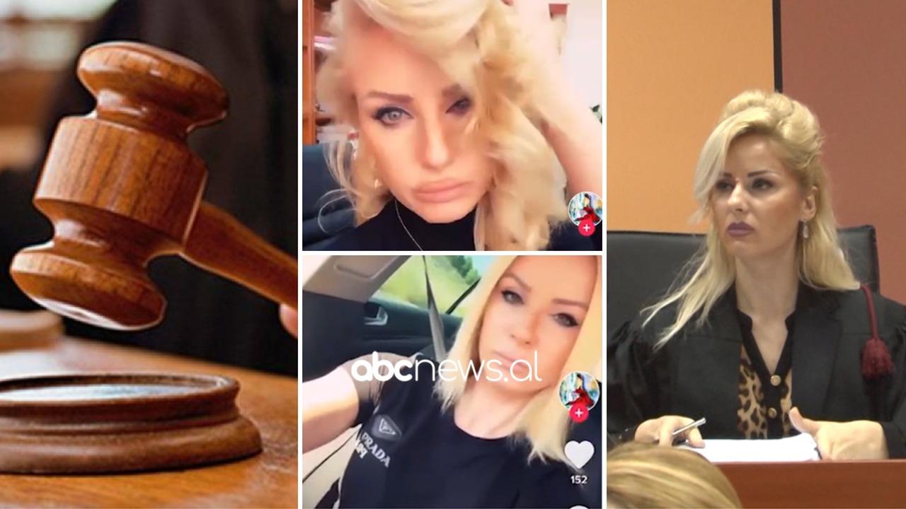 Videot në TikTok, KLGJ pezullon gjyqtaren Enkeleda Kapedani