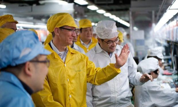 """Për herë të parë në histori, Kina bëhet furnizuesi më i madh i kompanisë """"Apple"""""""