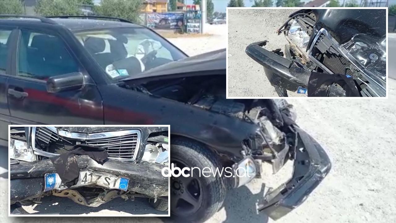 Përplasen automjetet në Krujë: Katër të lënduar, mes tyre edhe fëmijë