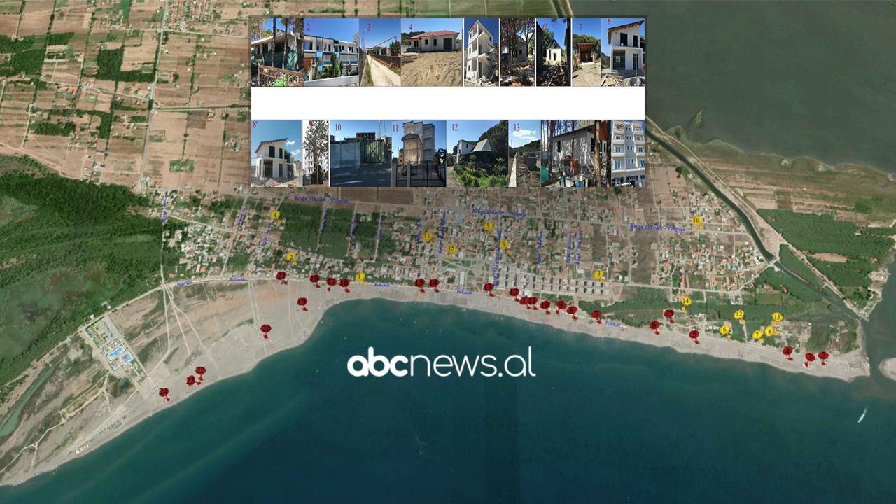 """""""Fshesa"""" në Velipojë do të rrafshojë 45 objekte pa leje, përveç bregdetit shembje edhe mbi pedonale"""