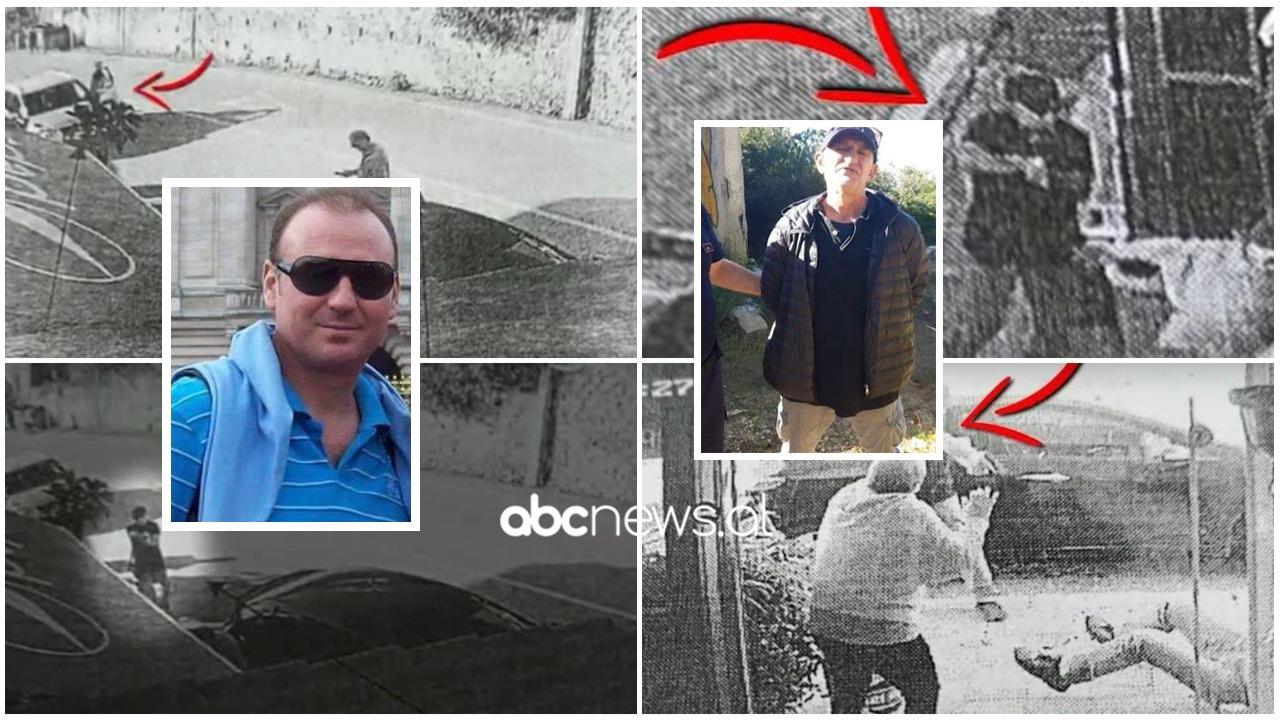 FOTO/ Momenti i ekzekutimit të biznesmenit Niko Goro, autori qëllon nga afër dhe ia mbath