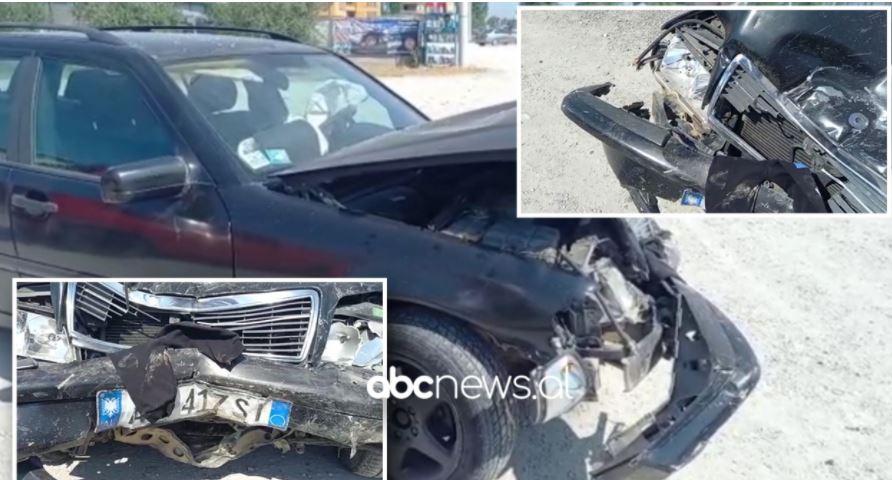 Four injured, including children after vehicles collide in Kruja