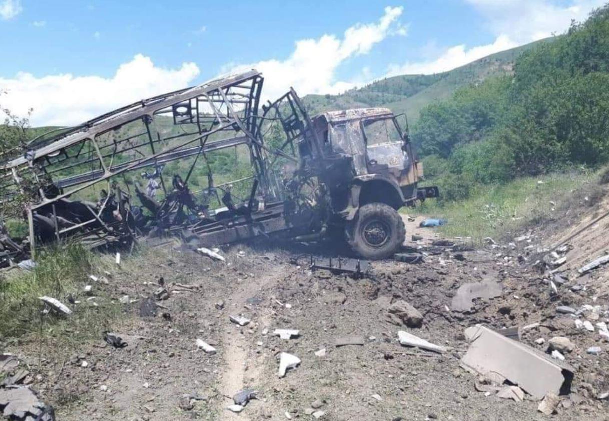Mina armene vret 3 persona në Azerbajxhan
