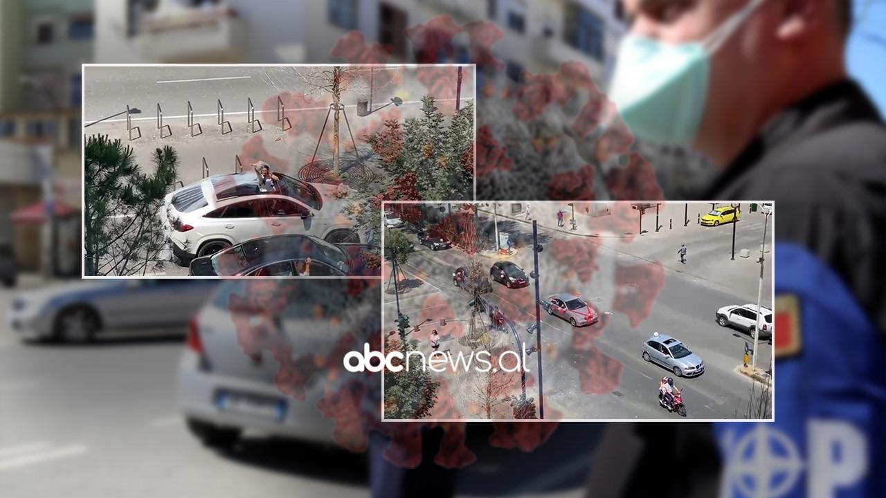"""Pamjet që na kishin munguar, """"shpërthejnë"""" boritë e karvanëve të dasmorëve nëpër Tiranë"""