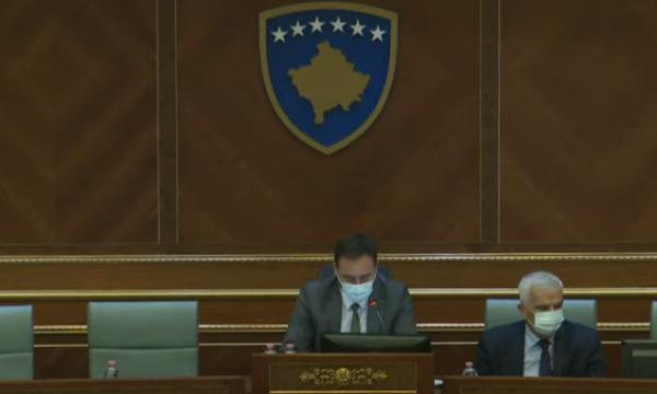 Batuta në kuvendin e Kosovës, Konjufca: Të nderuar kabinet qeveritar, që pritet të vini