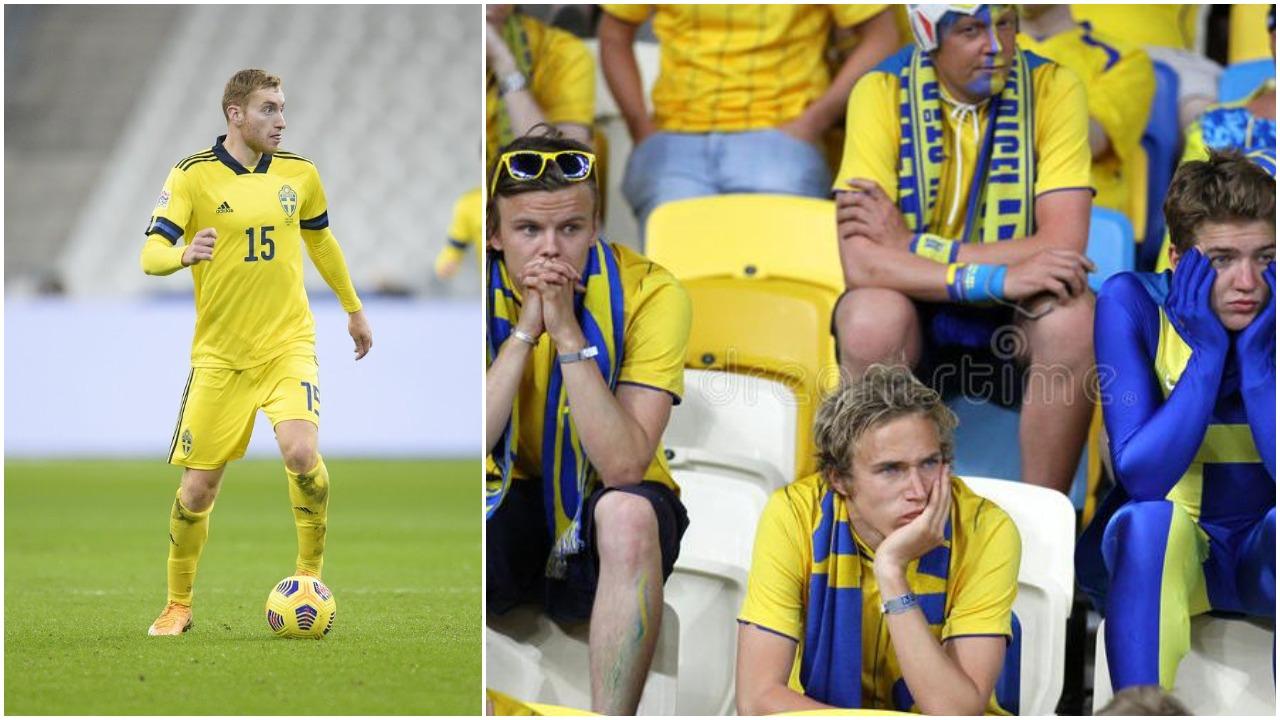 Kulusevski: Futbolli është mizor, goli i Ukrainës si një thikë në stomak