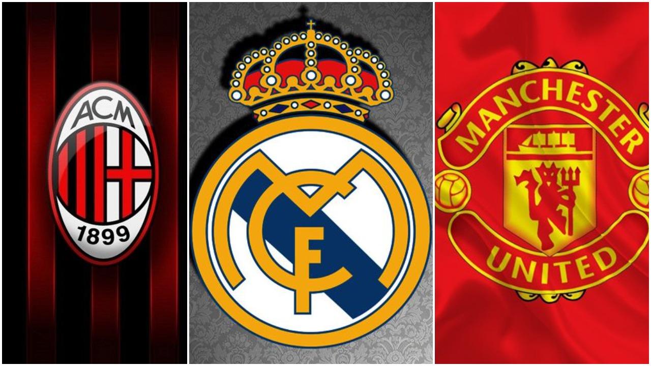 Dy anësorë në lojë: Lëvizje në aksin Milano-Madrid-Manchester