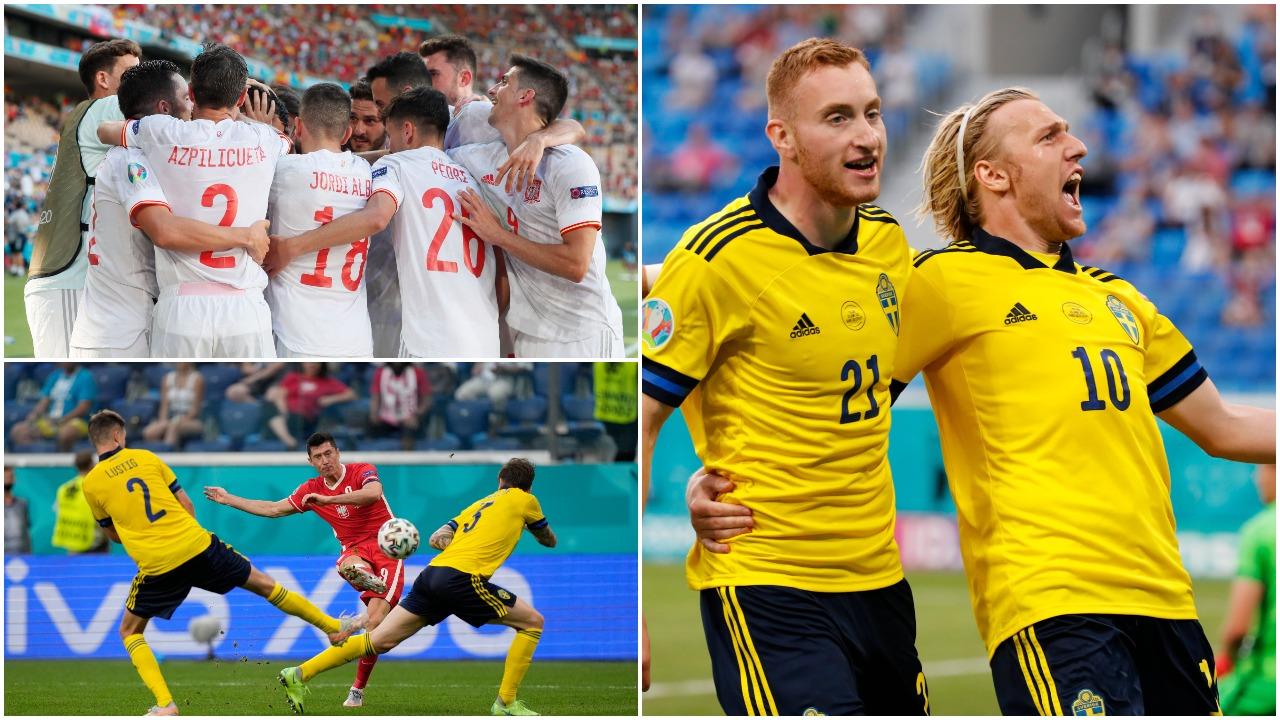 """VIDEO/ """"Manita"""" iberike, Kroaci-Spanjë në 1/8! Suedia eliminon Lewandowskin"""