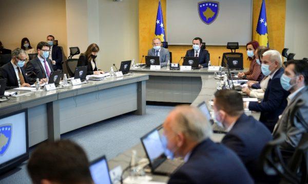Qeveria e Kosovës miraton projektligjim për themelimin e Gjykatës Komerciale