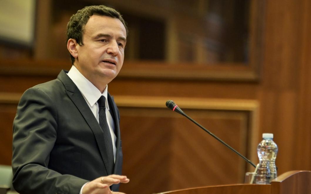 Kurti raporton në Kuvend për dialogun me Serbinë