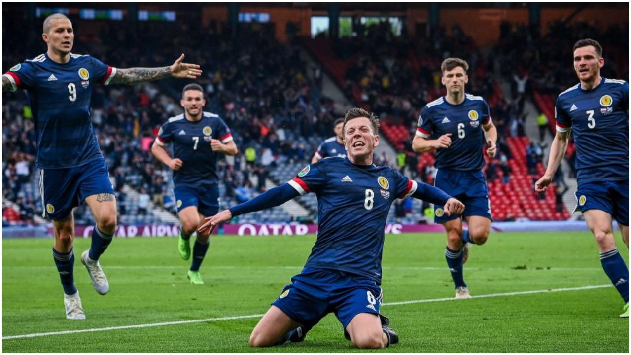 """VIDEO/ Shpërthen """"Hampden Park"""", Skocia gjen golin e barazimit me Kroacinë"""