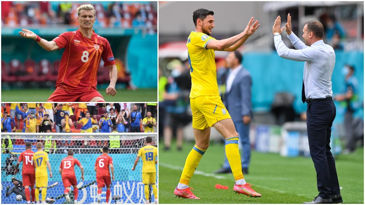 VIDEO/ Ukraina merr 3 pikët e para, Alioski s'i mjafton Maqedonisë së Veriut