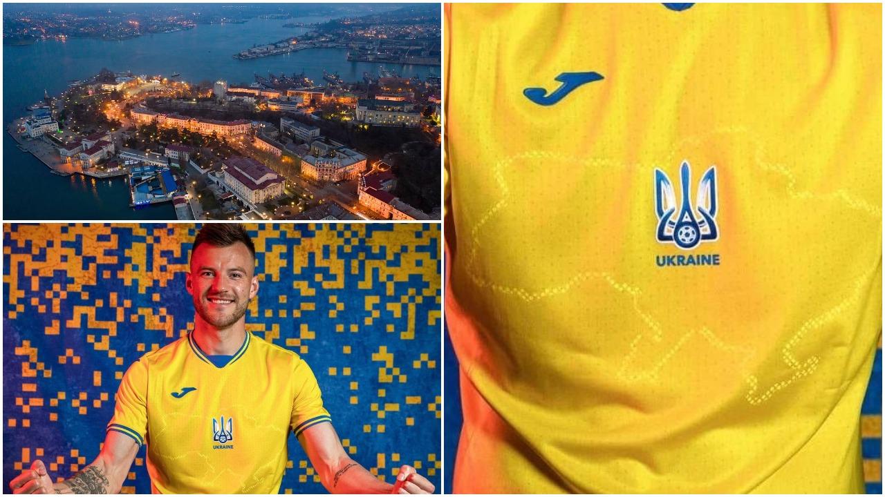 Mban krahun e Rusisë, UEFA urdhër kombëtares ukrainase: Ndërroni fanellat