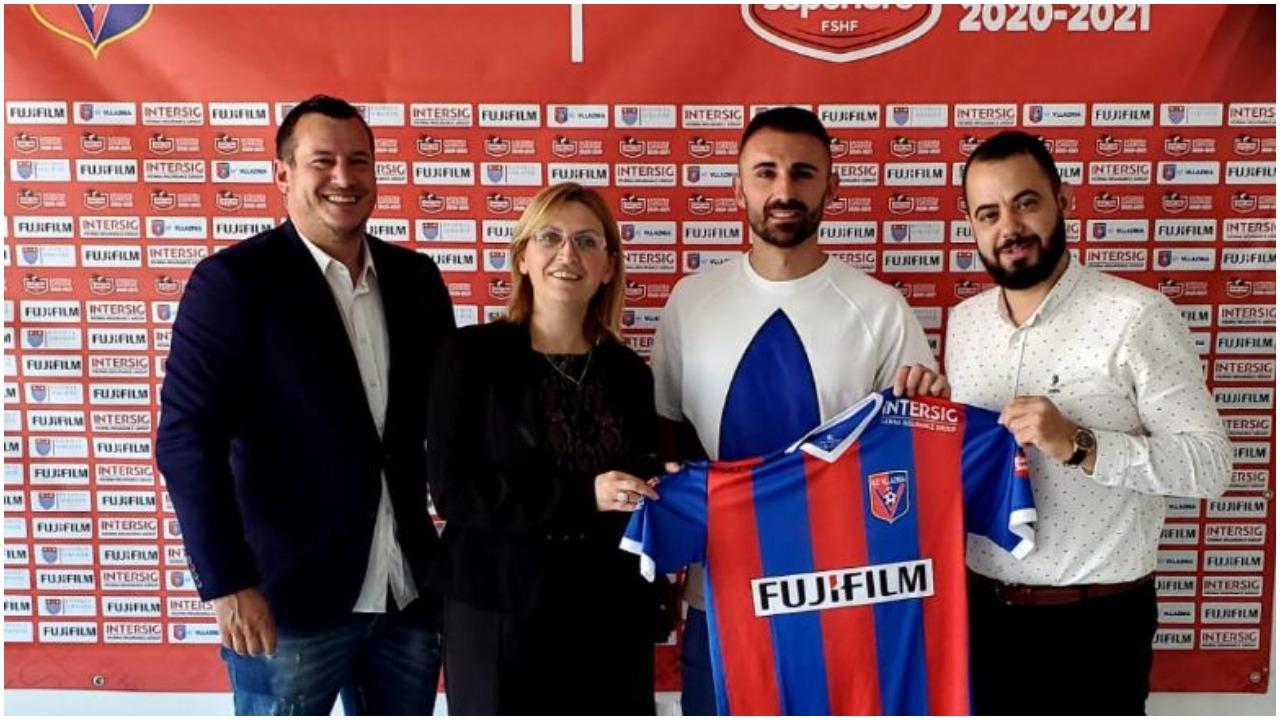 Lojtari i kombëtares zbarkon në Shkodër, Vllaznia përforcon mbrojtjen