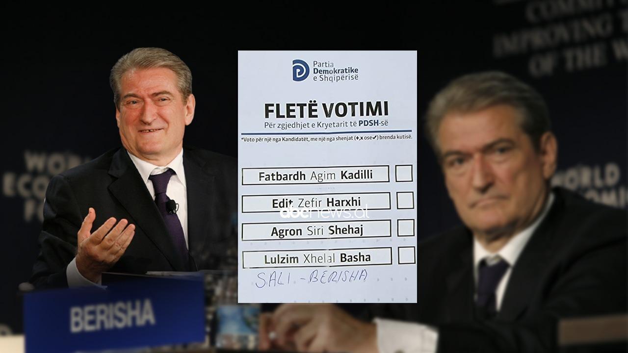 """Asnjë nga kandidatët e listës nuk është i preferuar, demokrati i jep """"votën"""" e parë Berishës"""