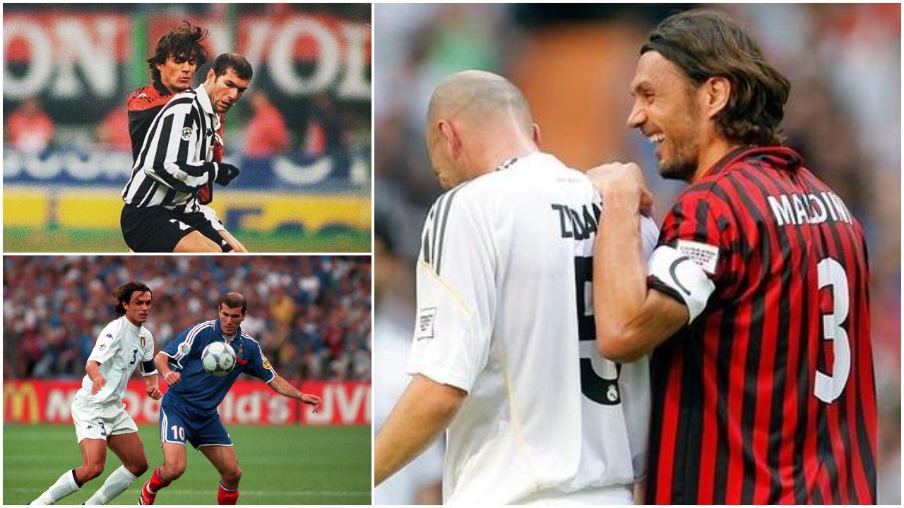 Goli më i bukur dhe kundërshtari më i fortë, Zidane: Nuk ka si Paolo Maldini