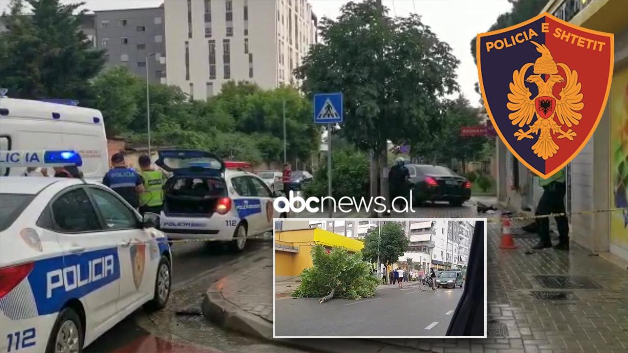 """E frikshme/ Adoleshenti u fut në trotuar dhe e përplasi me """"Benz"""", vajza ulërin, rëndë në spital (VIDEO)"""