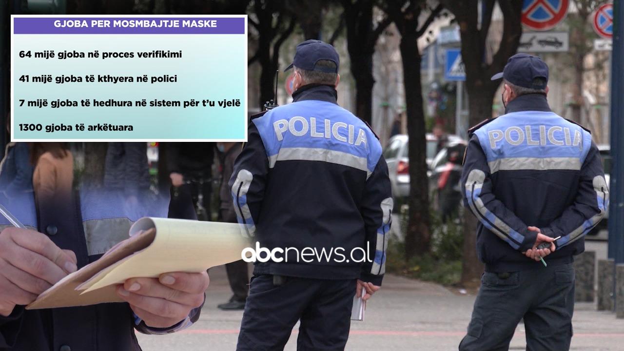Gjobat për maskën, OSHEE vjel vetëm 1300 nga 114 mijë në total