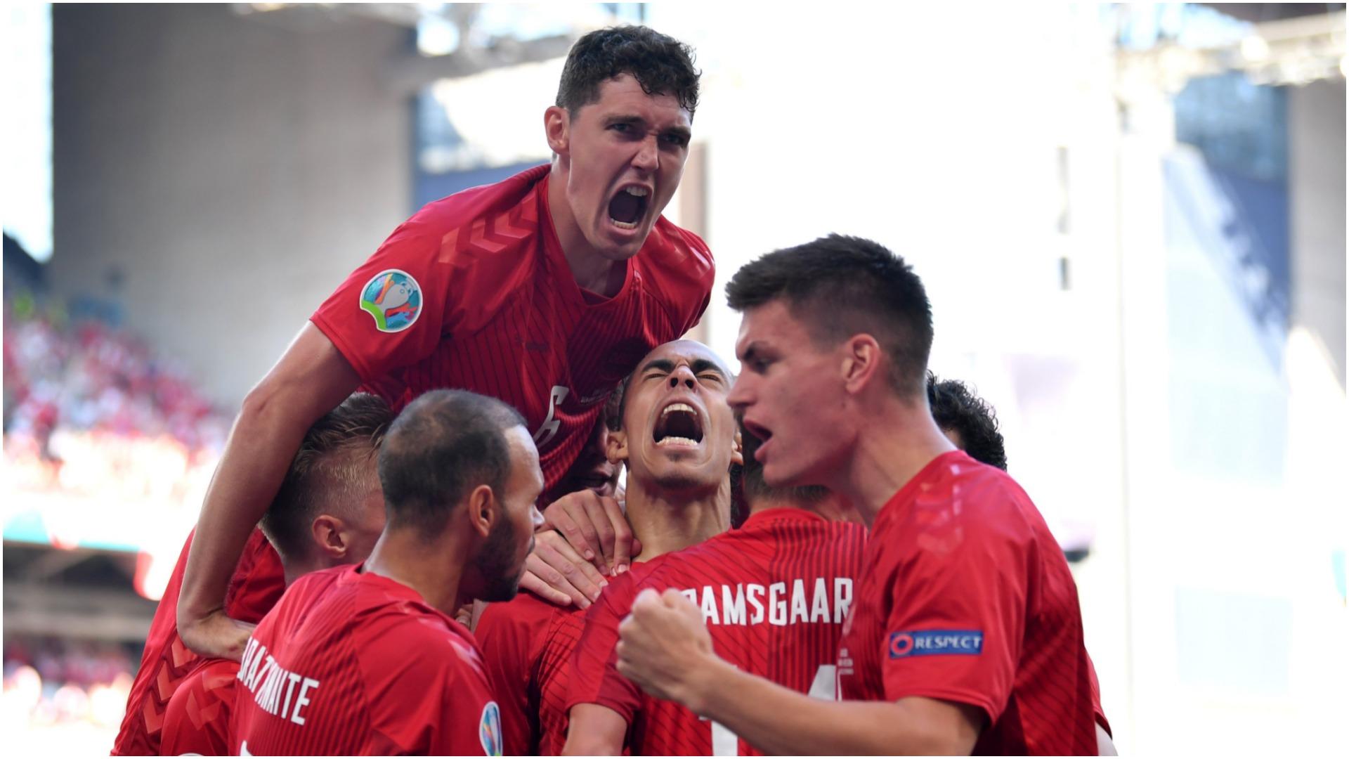 VIDEO/ 99 sekonda mjaftojnë, Danimarka shënon golin më të shpejtë në Euro 2020
