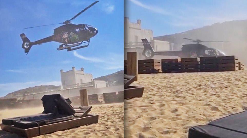 VIDEO/E pazakontë, helikopteri i një biznesmeni ulet në mes të bregdetit rrezikohen pushuesit