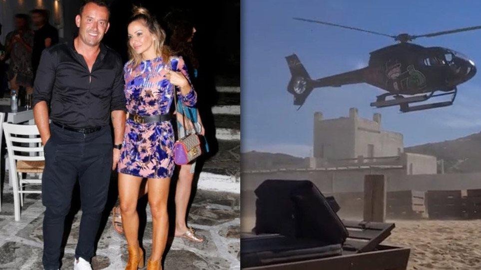 VIDEO/ Kush është biznesmeni grek që u ul me helikopter mbi kokat e pushuesve në ishullin e miliarderëve