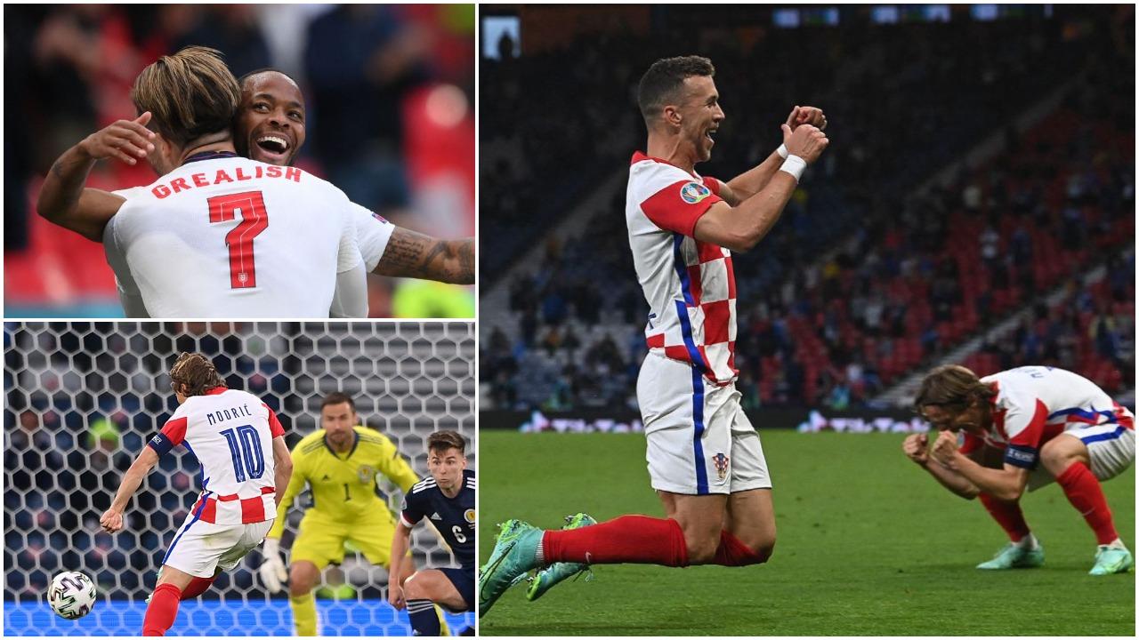 """VIDEO/ Sterling i dhuron kreun Anglisë, """"ringjallet"""" dhe kualifikohet Kroacia"""