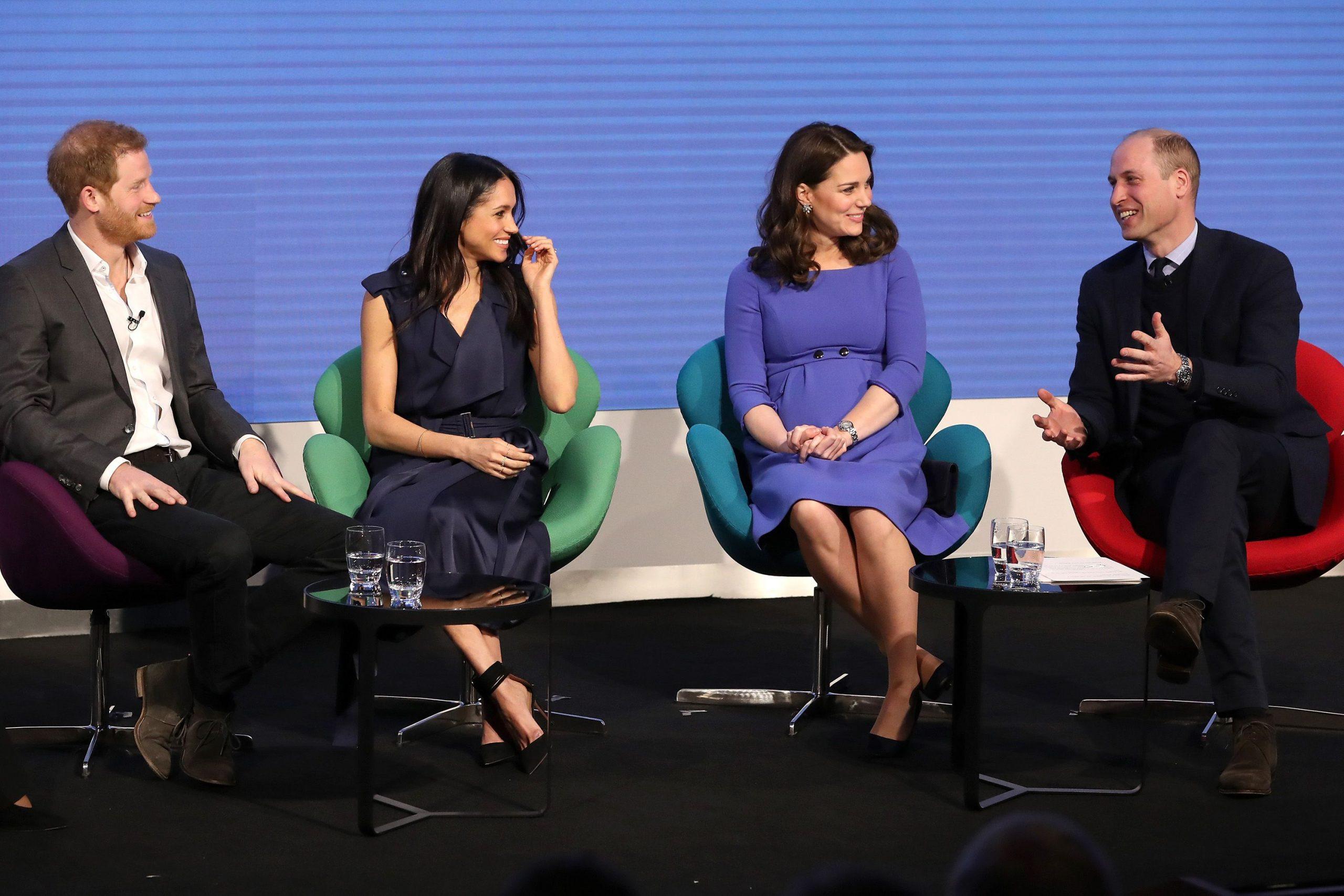 U bënë prindër për herë të dytë, Kate dhe William i bëjnë dhuratën e parë Meghan e Harry-t