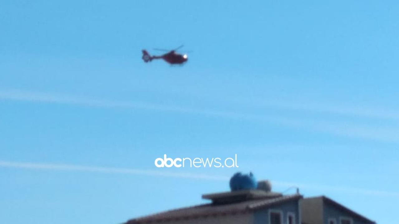 """Bie nga lartësia dhe pëson fraktura të shumta, 17-vjeçari në Sarandë me helikopter drejt """"Traumës"""""""