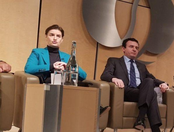 """""""Sfidon"""" Brnabić: Kurti bën cirk, le ta provojë të padisë Serbinë për gjenocid"""