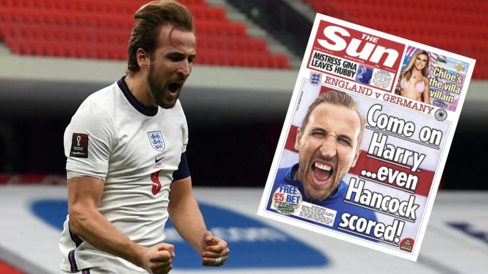 """""""Harry, edhe Hancock shënoi"""" dha efekt, Kane mbështetet edhe nga FA pas golit"""