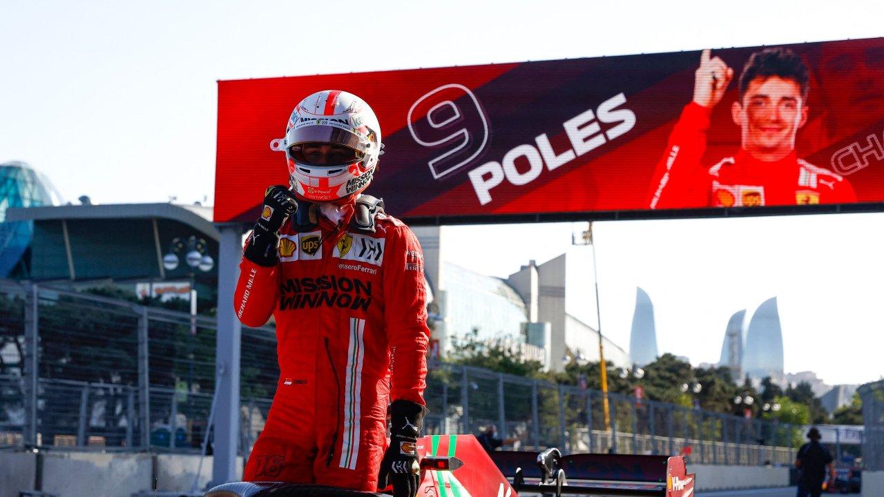 VIDEO/ Pole i dytë radhazi, Leclerc fiton provat zyrtare dhe lë pas rivalët në Baku