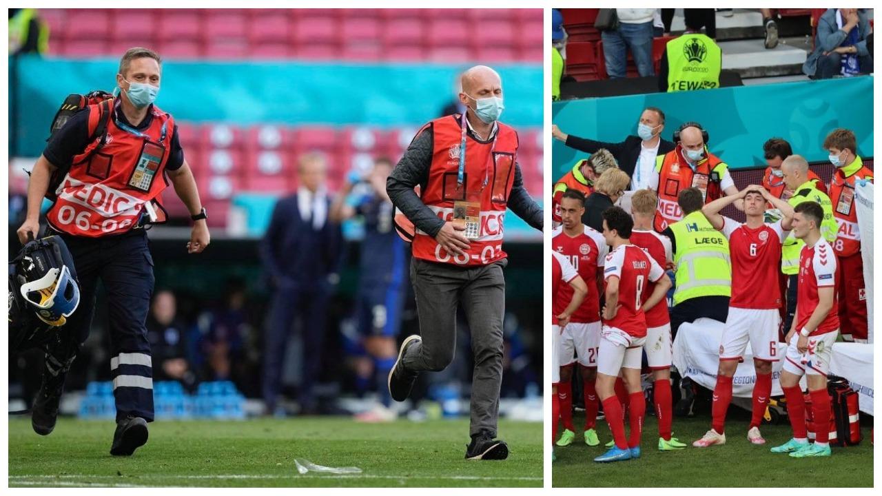 """""""Ndihem si fëmijë para Krishtlindjes"""", UEFA fton Eriksen dhe mjekët në finalen e Euro 2020"""