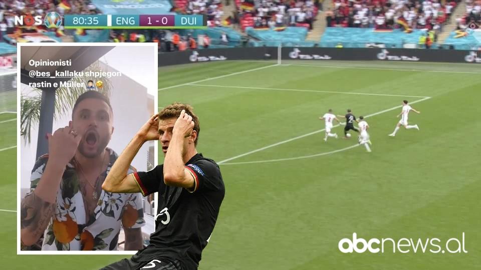 VIDEO/ Si e humbi Thomas Muller rastin me Anglinë? Bes Kallaku jep shpjegimin epik